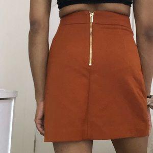 H&M Skirts - H&M Orange Skirt